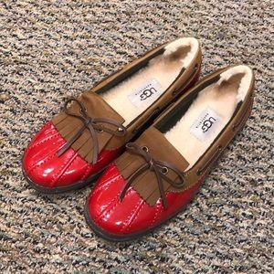 Ugg Haylie leather loafer